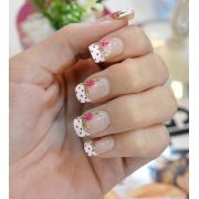 Unhas Posti�as Decoradas M�dia Com Cola ESS-C003 - You Care