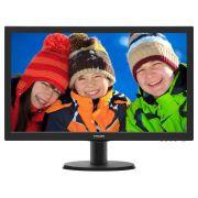 Monitor Philips 23,6 LED 243V5QHAB - Widescreen - HDMI - DVI - VGA