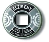 Roda ELEMENT - 51 mm - Prata