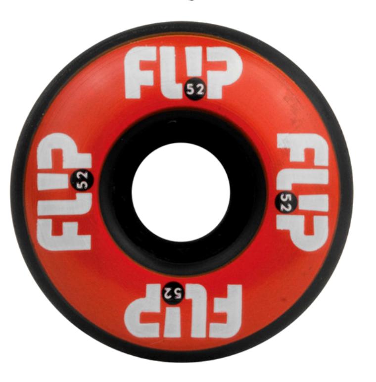 Roda Flip 52 mm 99 A - Black