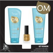 Kit Fashion Argan Yenzah - Shampoo + Condicionador + Esmalte YNC