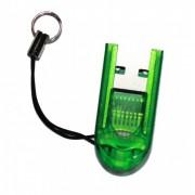 Leitor USB para cart�o MicroSDHC, MicroSD