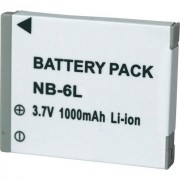 Bateria NB-6L 1000mAh para c�mera digital e filmadora Canon Digital Ixus 85 IS, IXY Digital 25IS, Po