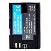 Bateria LP-E6 para c�mera digital e filmadora Canon EOS Digital 5D Mark II, EOS 60D, EOS Digital 7D