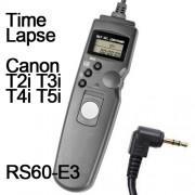 Cabo Disparador Remoto Time Lapse para Canon RS60-E3 TC1001