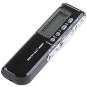 Gravador De �udio Voz Digital R-70 4 GB Escuta Telef�nica Mp3