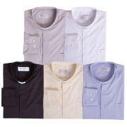 Camisa Clerical Tradicional M/L