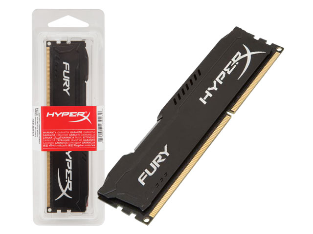 Memoria Desktop Gamer DDR3 HYPERX HX316LC10FB / 8 FURY 8GB 1600MHZ CL10 UDIMM LOW Voltage 1.35V