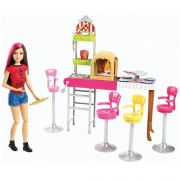 Barbie Family Pizzaria 3 e Demais Mattel CGF37
