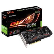 Placa de Video Nvidia Geforce GTX 1070 8GB GDDR5 256 BITS G1 Gaming - GV-N1070G1GAMING-8GD