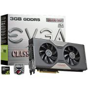 Placa de Video EVGA Geforce GTX 780 Dual Classified 03G-P4-3788-KR 3GB GDDR5 DVI-I/DVI-D/HDMI/DP 384