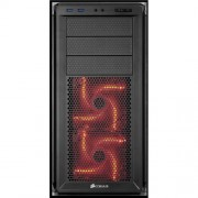 Gabinete Corsair Graphite 230T BLACK e RED LED CC-9011042-WW