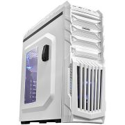 Gabinete Gamer PCYES Tiger Branco com LED AZUL