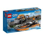 Lego CITY Great Vehicles 4X4 com Barco a Motor 60085