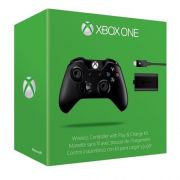Controle XBOX ONE Wireless + KIT PLAY AND Charge W2V-00006