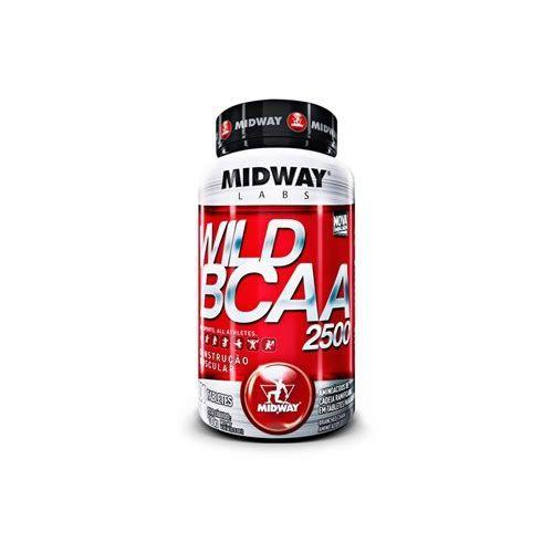 Wild BCAA 2500 - 100 Tabletes - MidWay