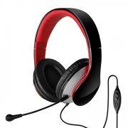 Edifier K830 Fone com Microfone, Headset Gamer, Preto e Vermelho