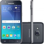 Smartphone Galaxy J5 Duos SM-J500M/DS, Quad Core 1.2Ghz, Android 5.1, Tela 5, 16GB, 13MP, 4G, Dual C