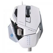 Mouse Gamer Laser Cyborg R.A.T. 7 6400DPI Branco (Ajustavel) MCB4370800C1 - Mad Catz -