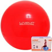 Bola Su��a Para Pilates 45Cm Live Up + Gr�tis Bomba Inflar