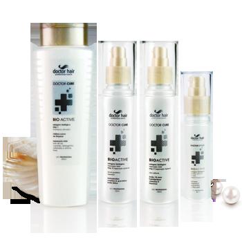 Doctor Hair Selagem Biologica ( Kit ) Bio Active ( Cabelos que passaram por processos químicos e se encontram muito danificados a fim de receberem uma reconstrução profunda / Linha Bio Active )