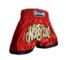 Cal��o / Short Muay Thai - Treino - Vermelho- Strike