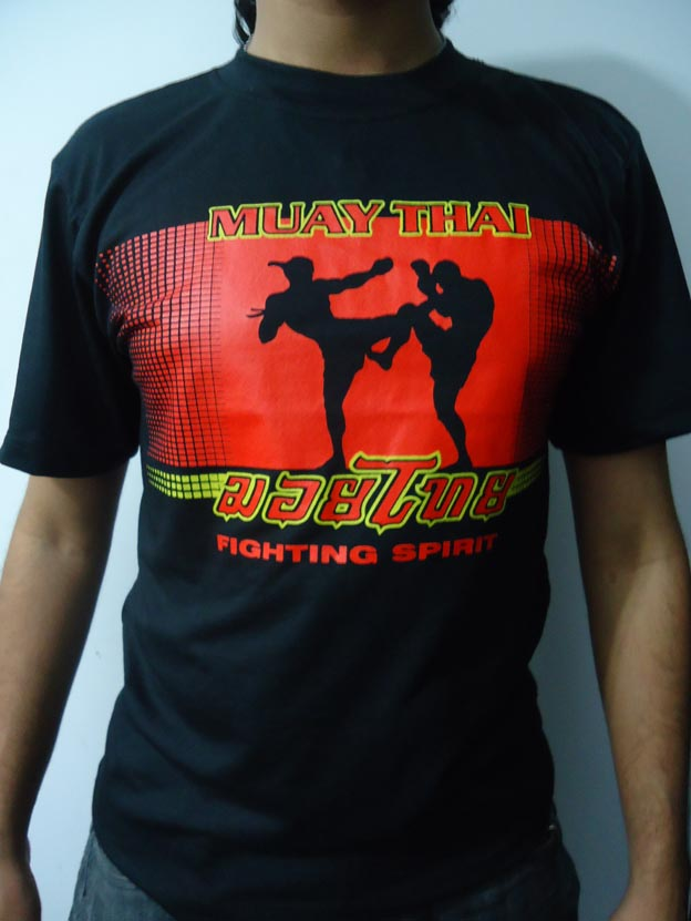 Camisa/Camiseta - Muay Thai Fighting Spirit - Toriuk