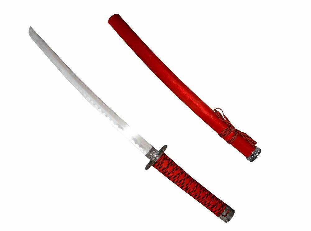 Espada Wakizashi - Vermelha