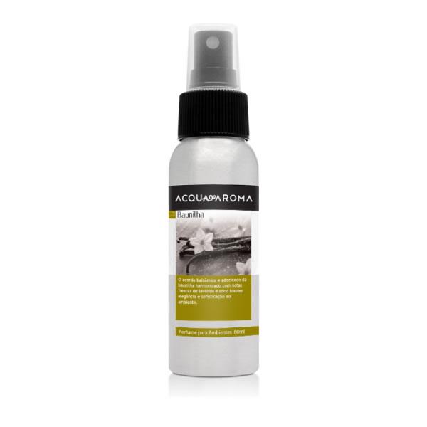 Perfume Ambiente 60ml Baunilha Acquaroma