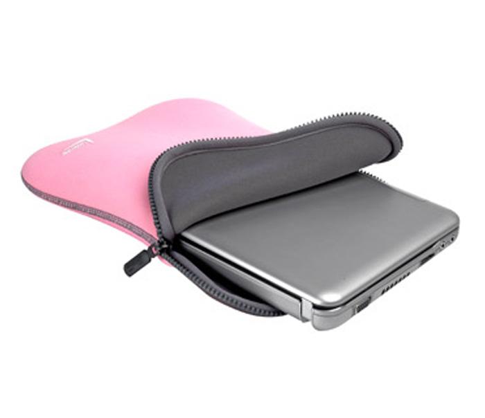 Case para Netbook Tablet até 10pol Dupla Face Rosa e Cinza Leadership 5320
